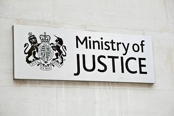 Ministry of Justice, United Kingdom stock photo