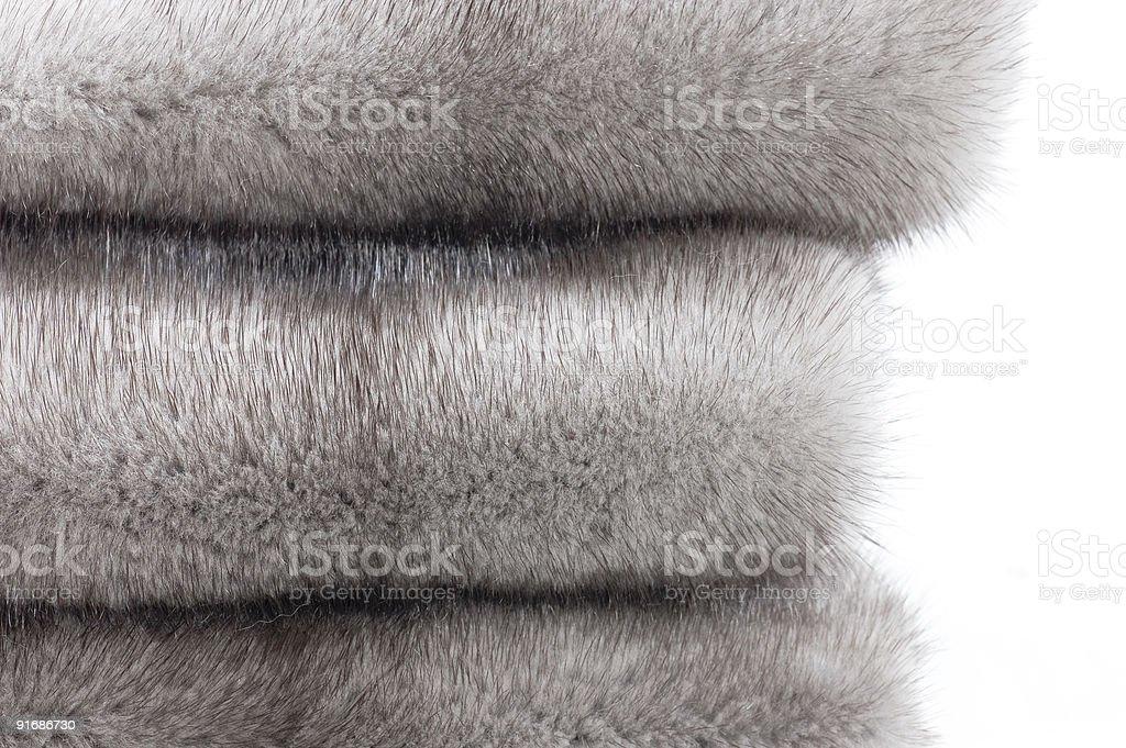Mink fur close-up royalty-free stock photo