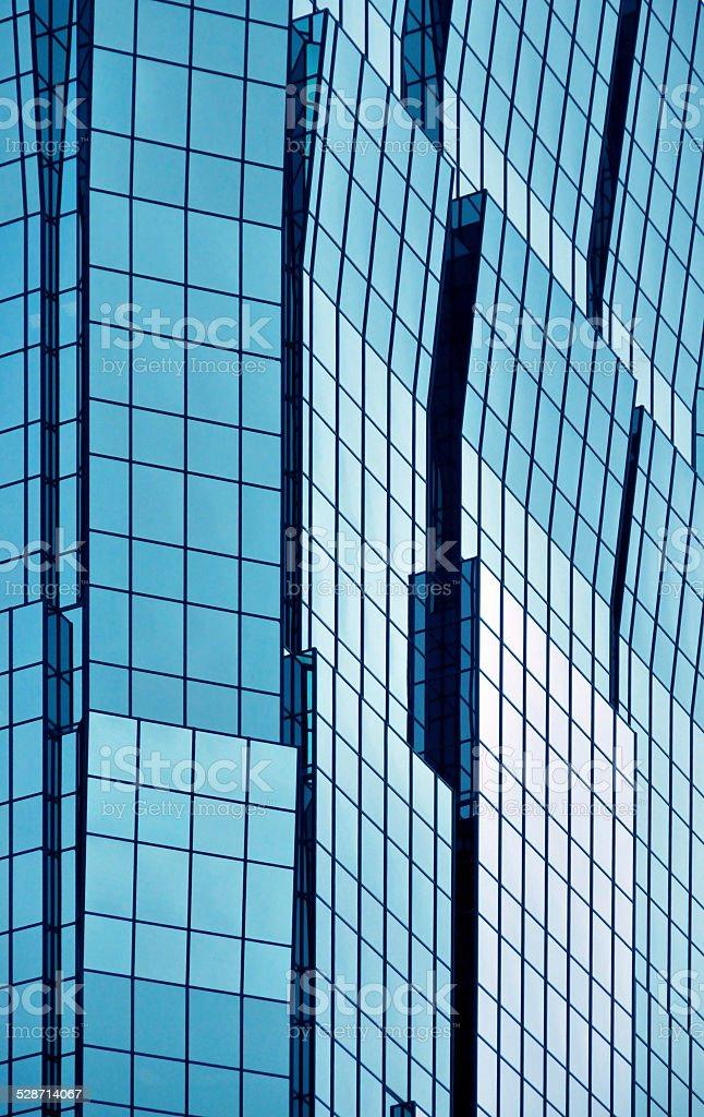 Minneapolis, Minnesota:AT&T Tower façade detail stock photo
