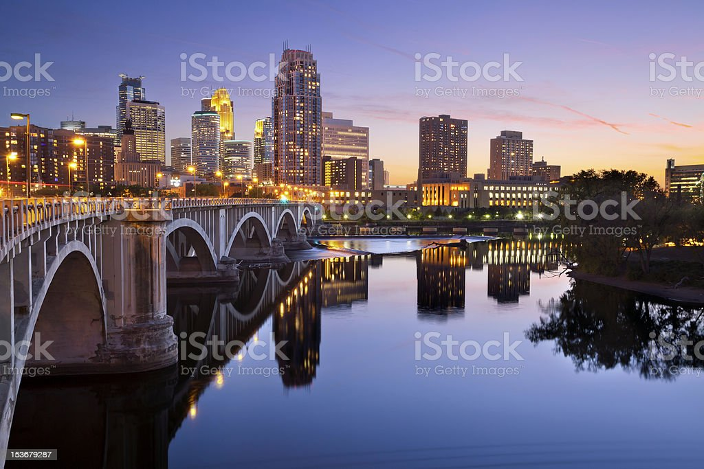 Minneapolis. stock photo