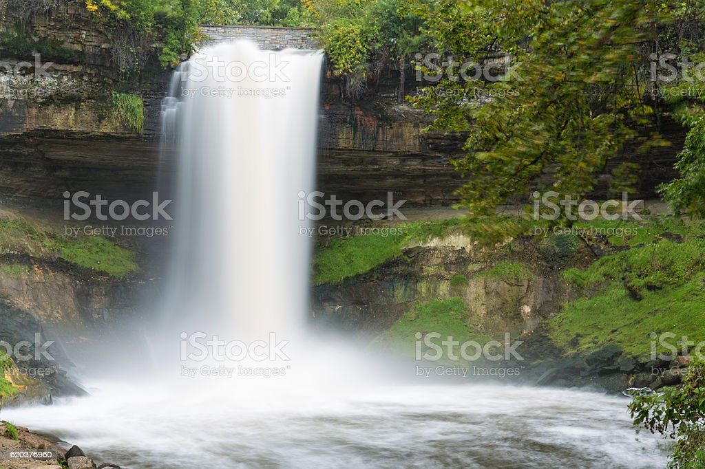 Catarata Minnehaha foto de stock royalty-free
