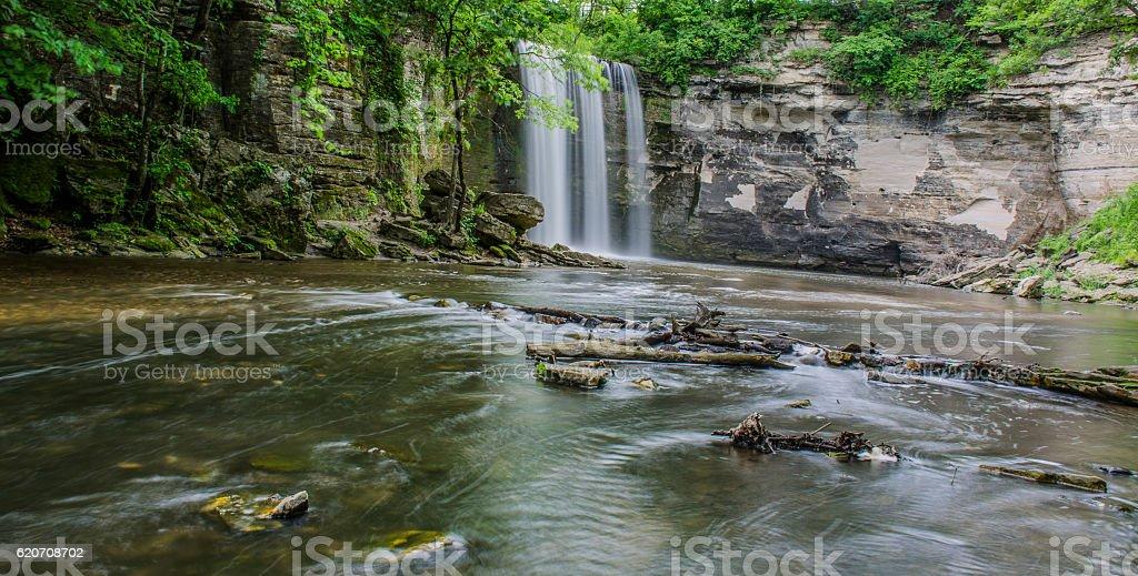 Minneopa state park stock photo