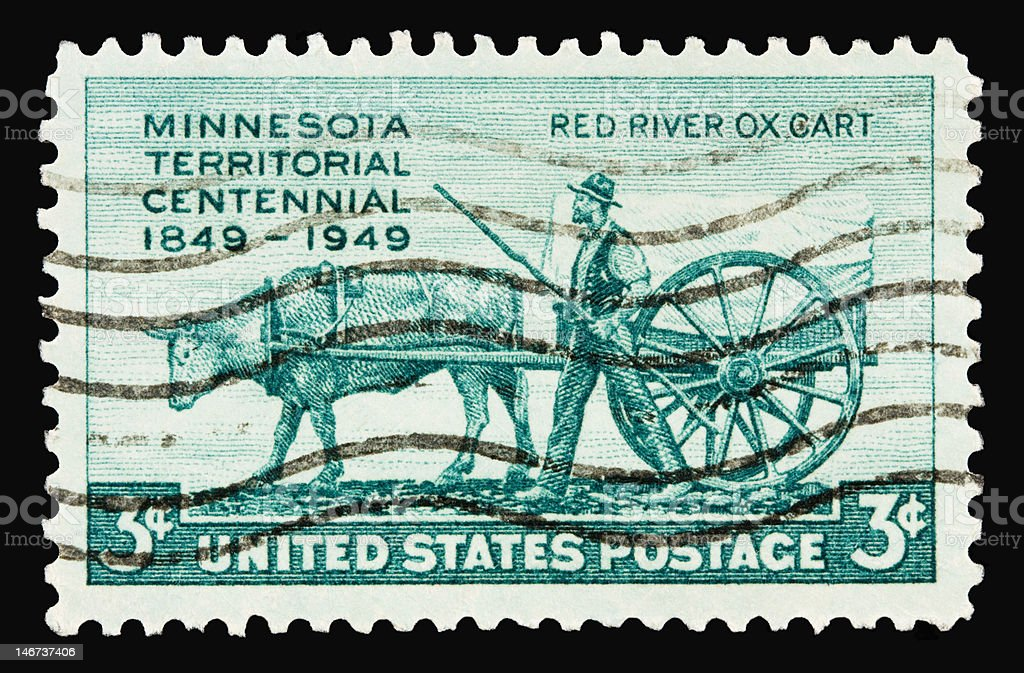 Minnesota 1949 stock photo