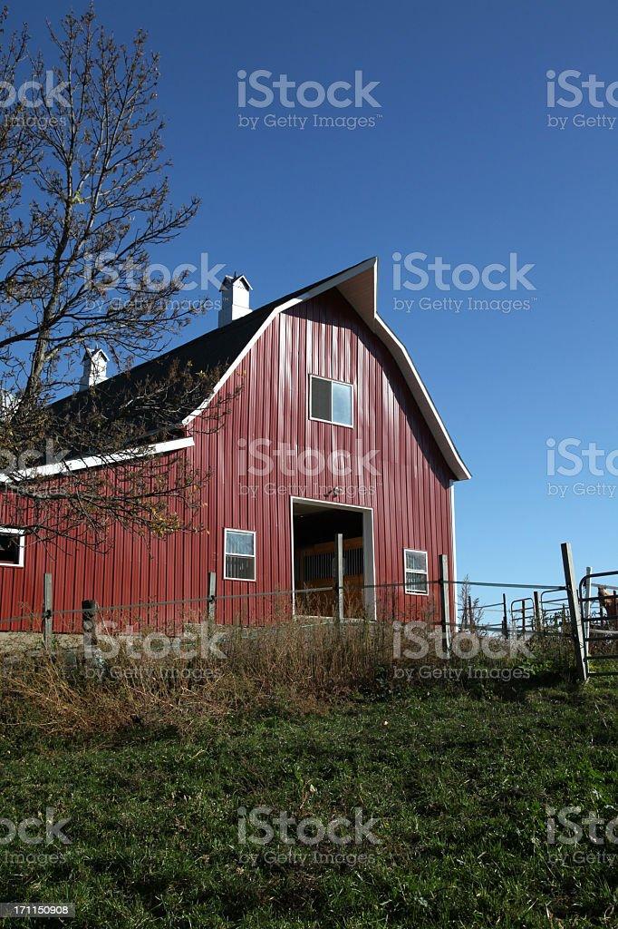 Minnesota Barn stock photo