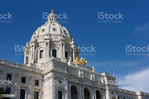Photo of Minnesota State Capitol Building Dome, Government Architecture, St. Paul