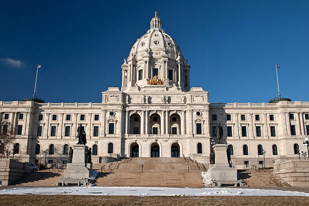 Minnesota State Capitol Building stock photo