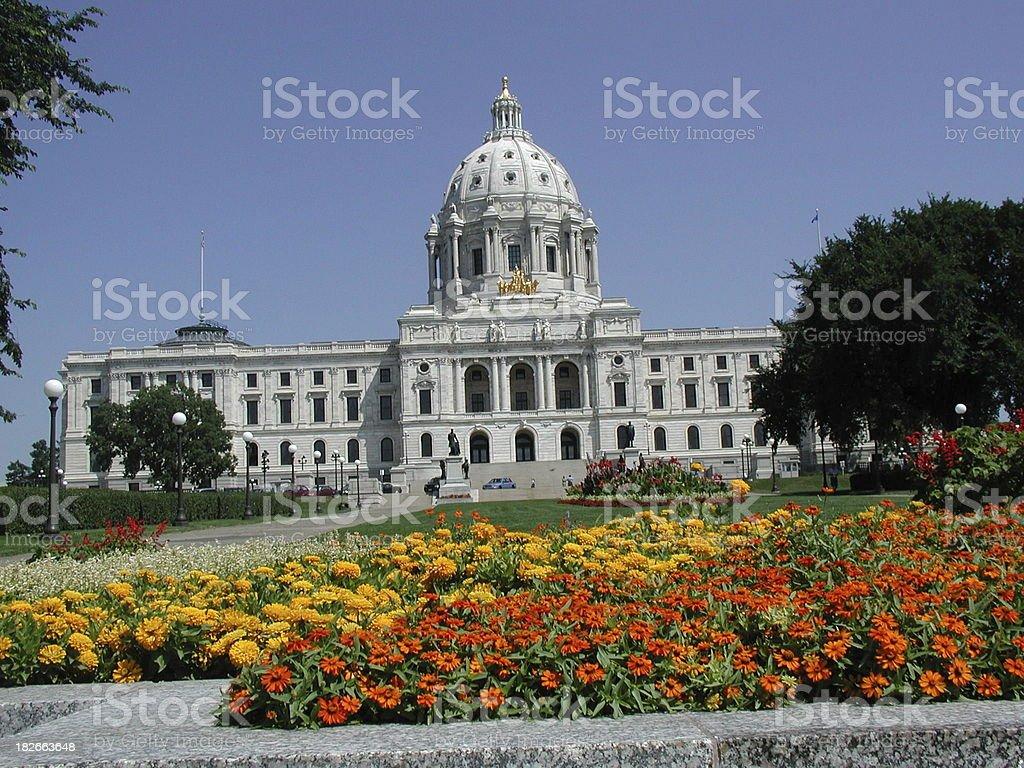 Minnesota State Capitol royalty-free stock photo