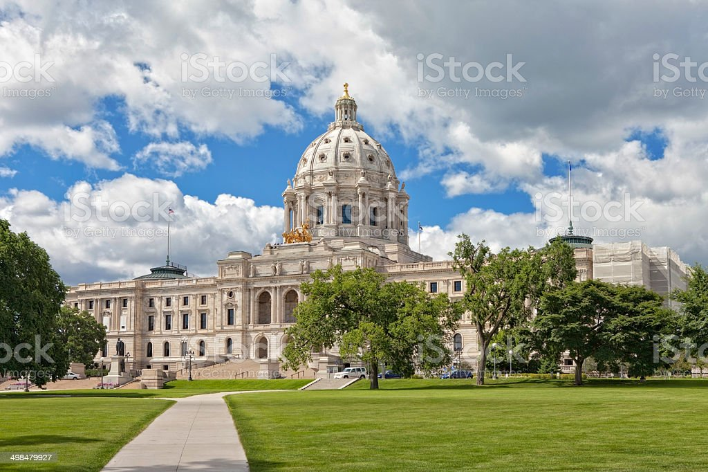 Minnesota State Capitol stock photo