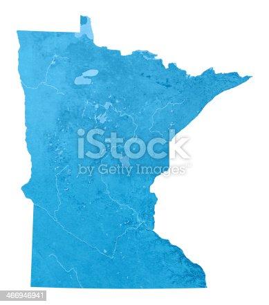 173169385istockphoto Minnesota Topographic Map Isolated 466946941