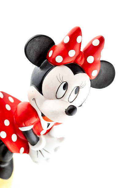 minnie maus-disney character - fantasie disney stock-fotos und bilder