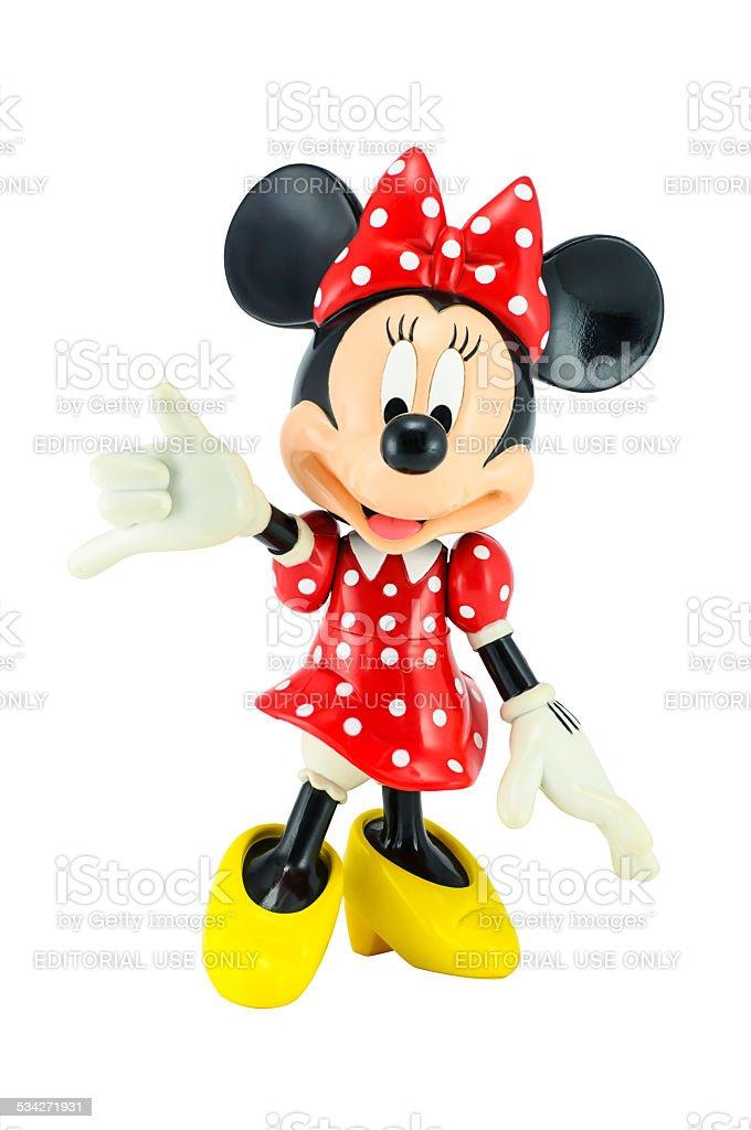 Minnie Maus Von Disneyfigur Stockfoto und mehr Bilder von ...