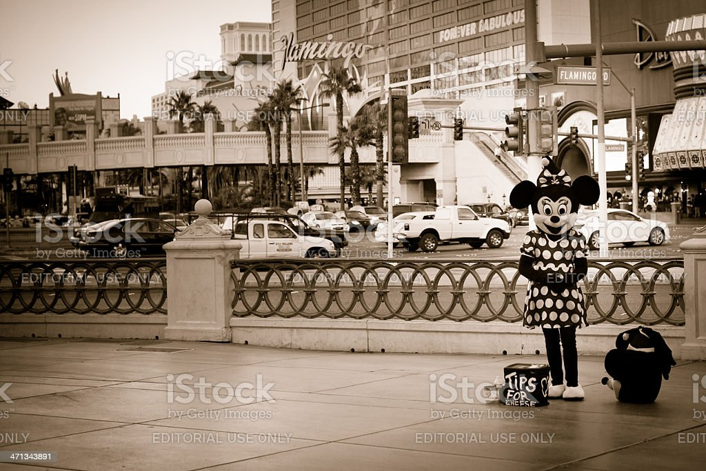 Minnie Mouse stock photo
