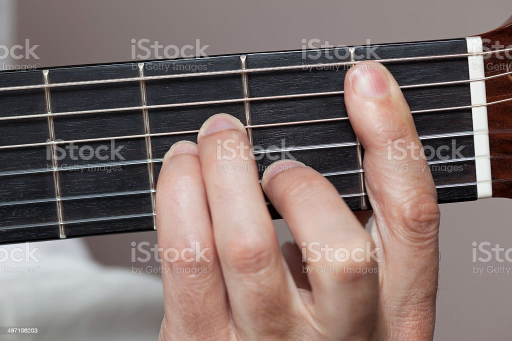 B minor stock photo