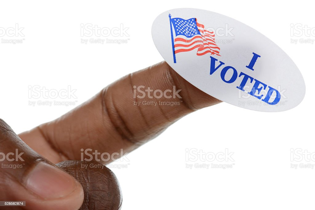 Minority Vote stock photo