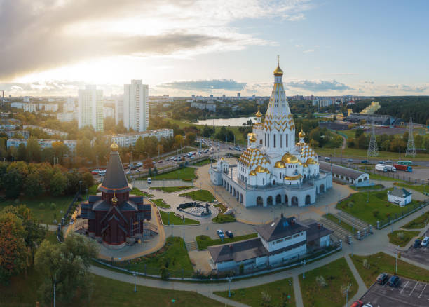 Minsk church. City center.