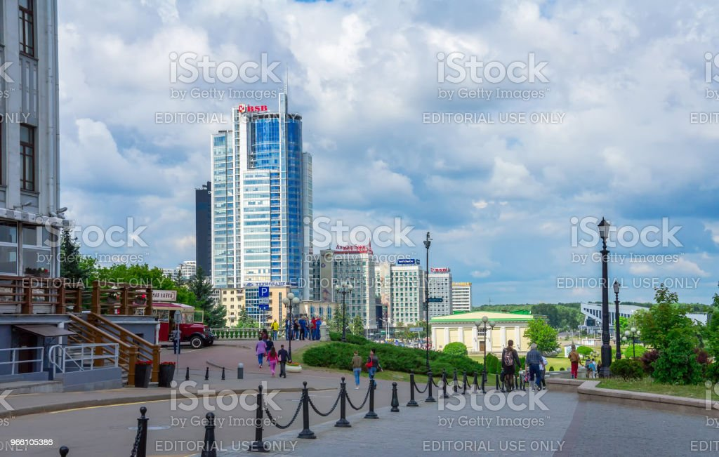 Minsk, modern architecture - Стоковые фото Архитектура роялти-фри