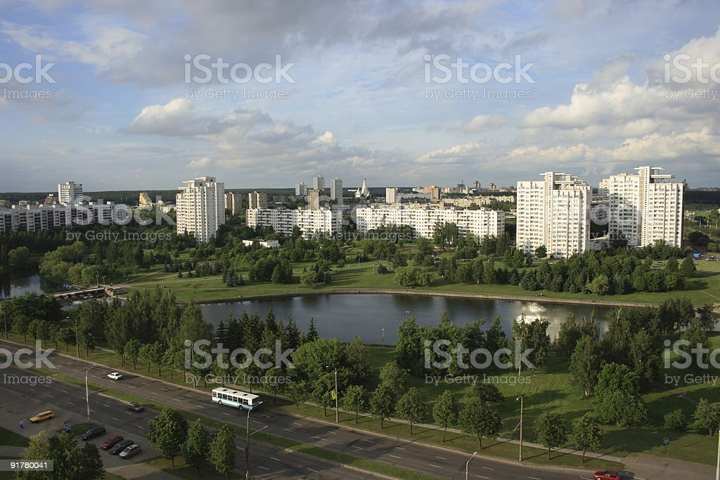 Minsk view royalty-free stock photo