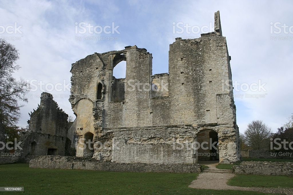 Minster Lovell Ruin stock photo