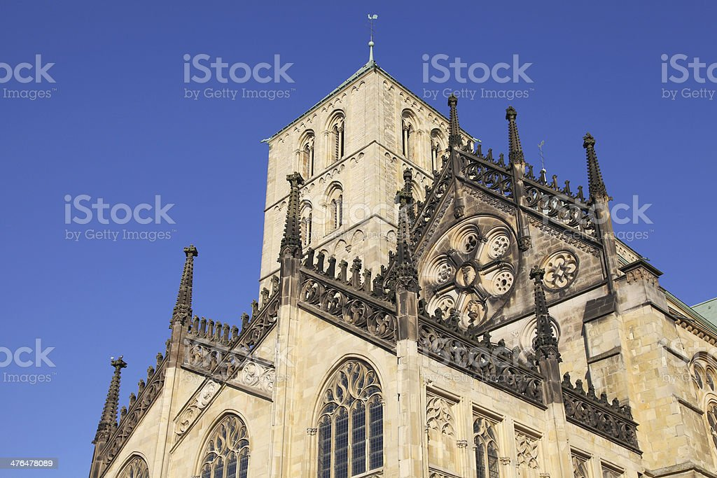 minster of Muenster royalty-free stock photo