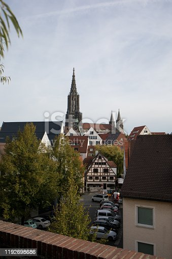 istock Minster of Ulm and the Skyline 1192698686