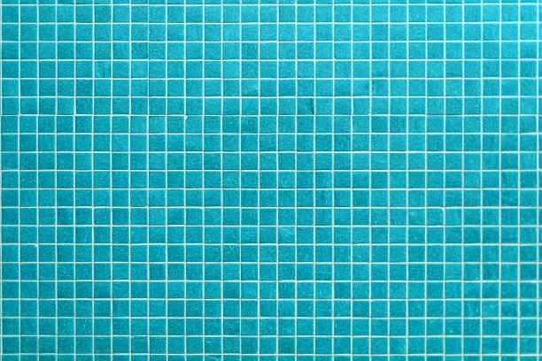 mint blauen keramikfliesen in ein modernes badezimmer - badezimmer wand stock-fotos und bilder