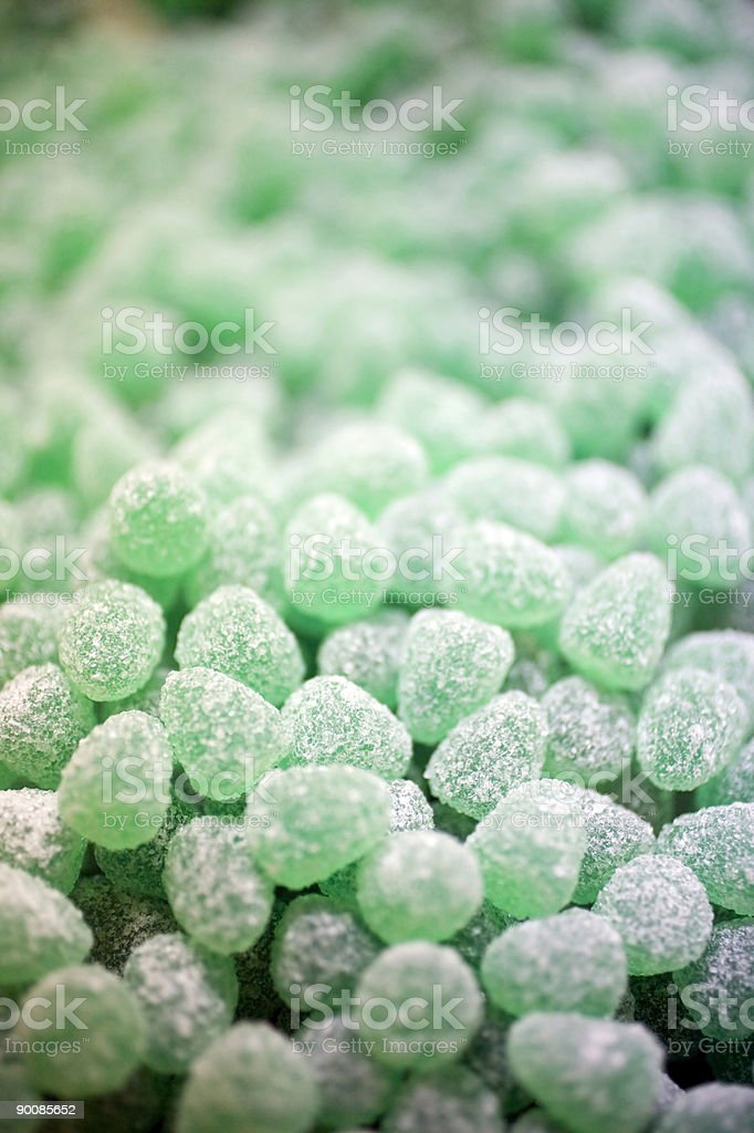 Mint candy royalty-free stock photo