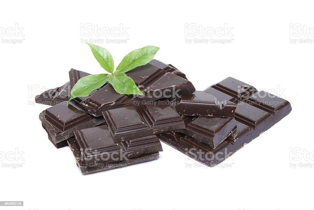 Mint Chocolate royalty-free stock photo