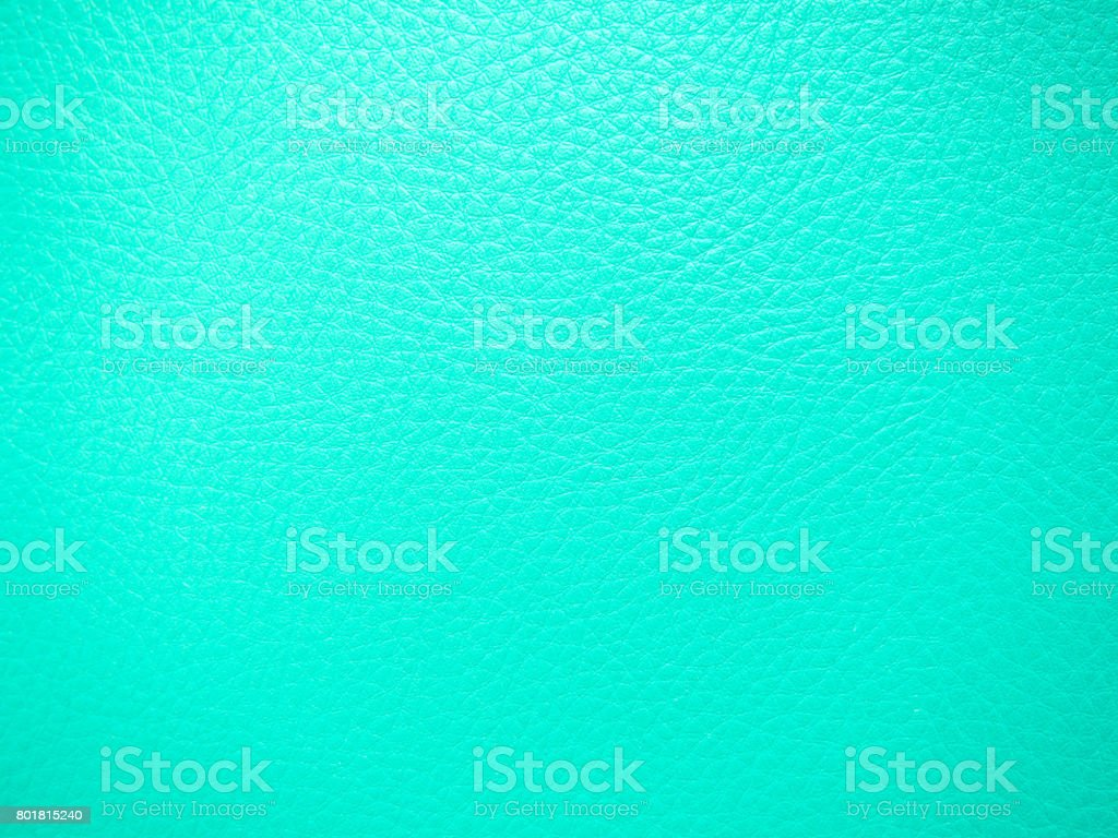mint color leather texture background stock photo
