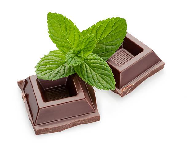 Minze und Schokolade – Foto