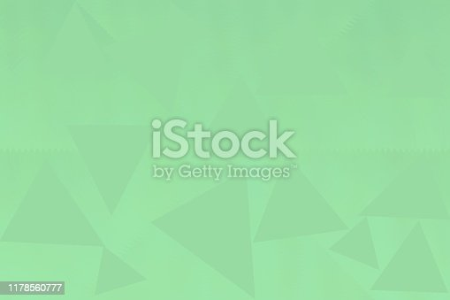 istock Mint green abstract triangle background 1178560777