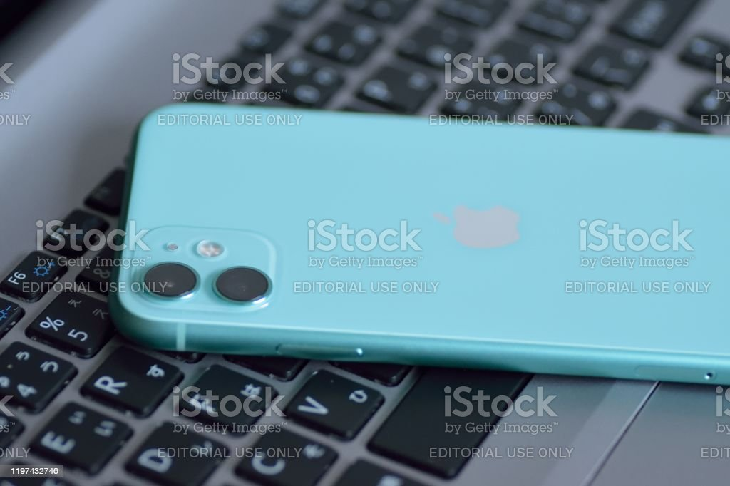 Mint Green Color Apple Iphone 11 Featuring Dual Camera Stock Photo Download Image Now Istock
