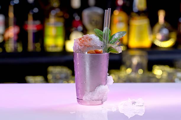 Mint Julep Weise klassische Drink im club. – Foto