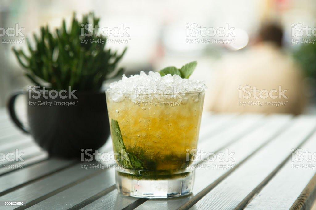 Mint julep stock photo