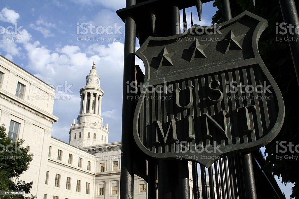 U.S. Mint royalty-free stock photo