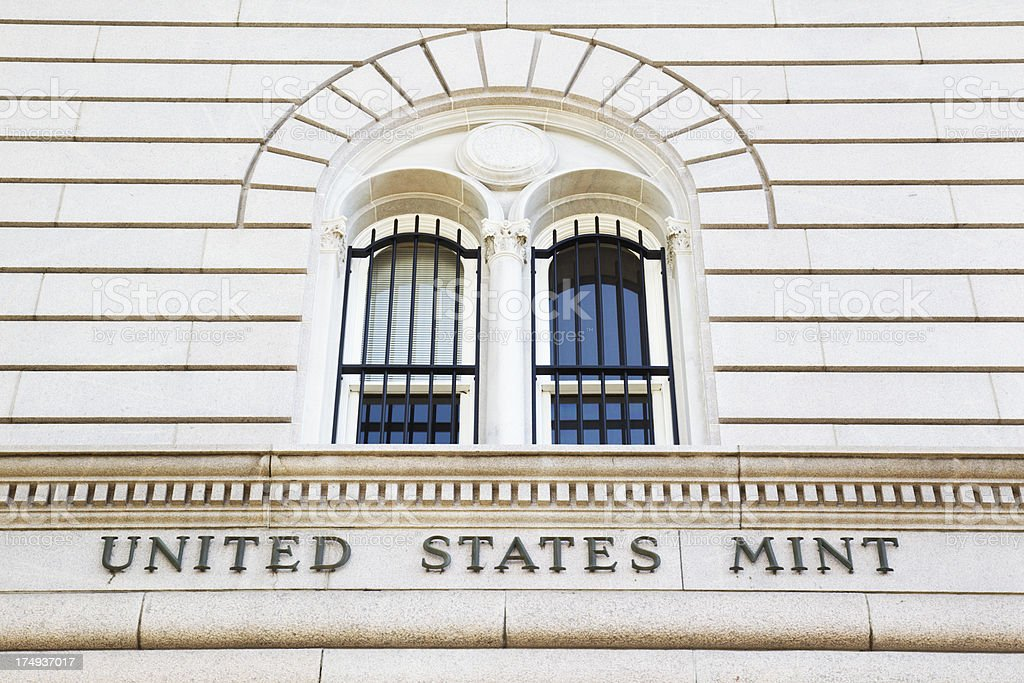 US Mint royalty-free stock photo