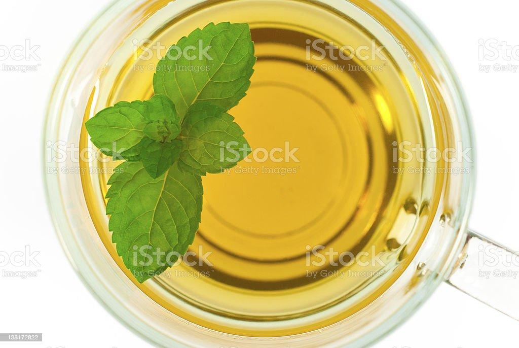 Mint tea royalty-free stock photo