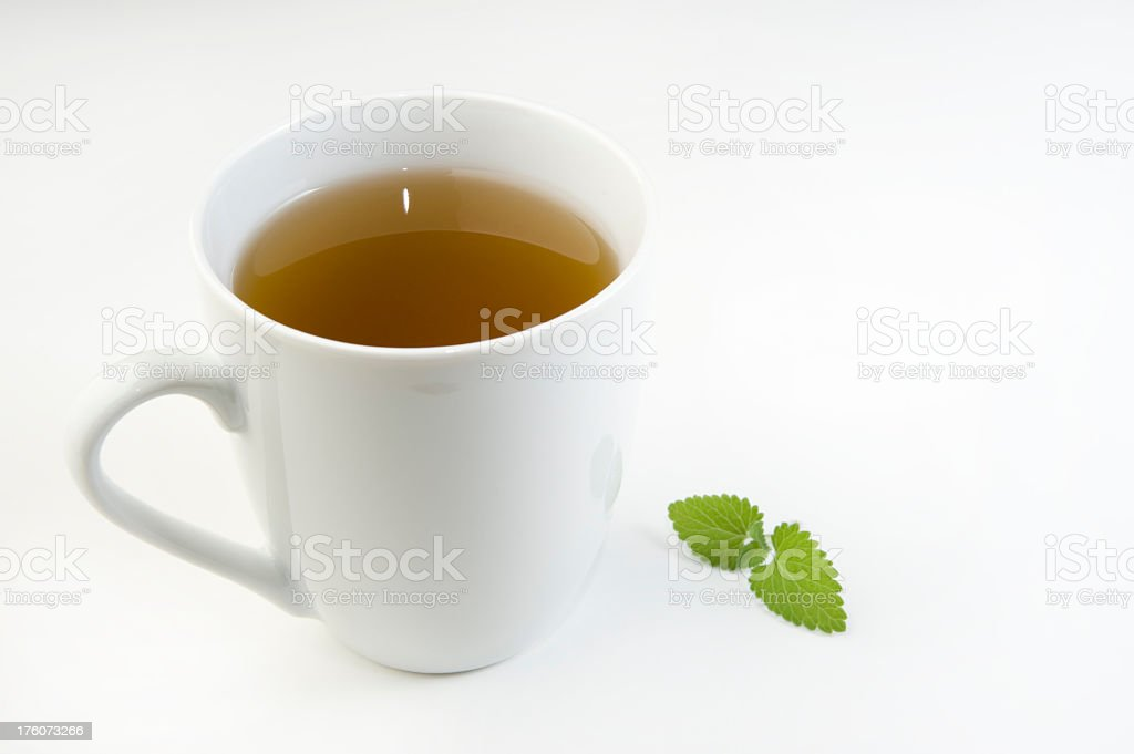 Mint Tea. royalty-free stock photo