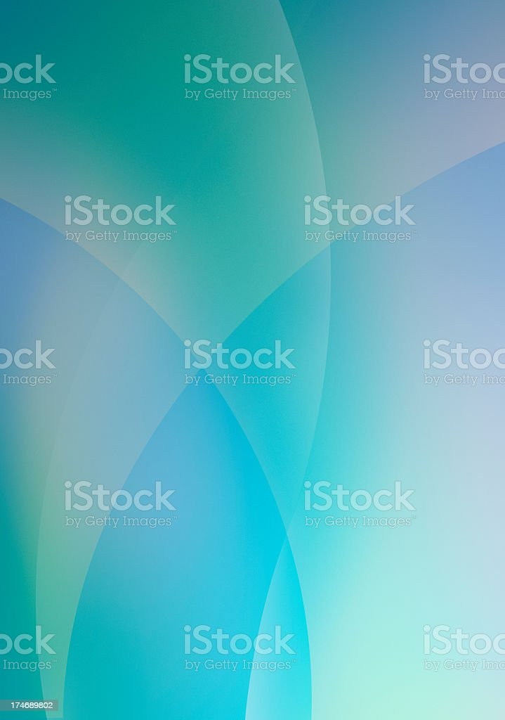 Minty Stained Glass stock photo