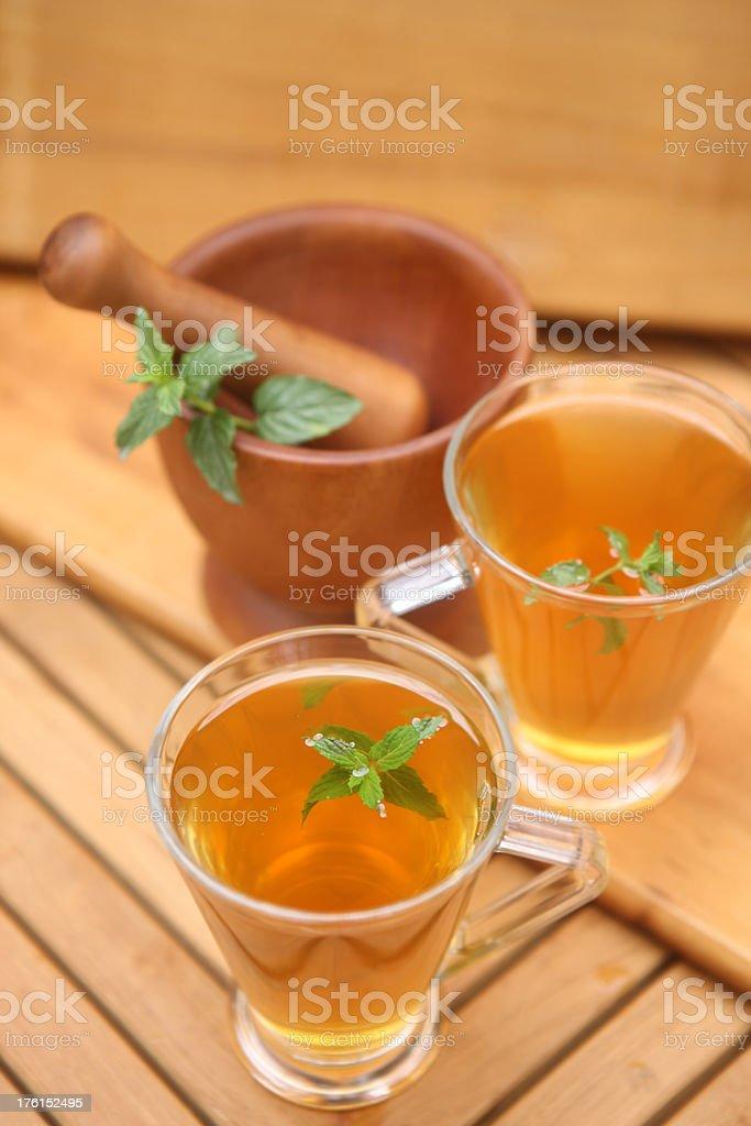 Minty Tea royalty-free stock photo