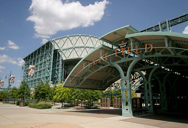 Minute Maid Park  major league baseball stock pictures, royalty-free photos & images