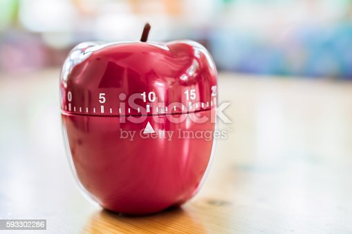 1048940572 istock photo 10 Minutes - Kitchen Egg Timer In Apple Shape 593302286