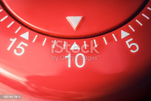 1048940572 istock photo 10 Minutes - Macro Of A Flat Red Kitchen Egg Timer 1001817812
