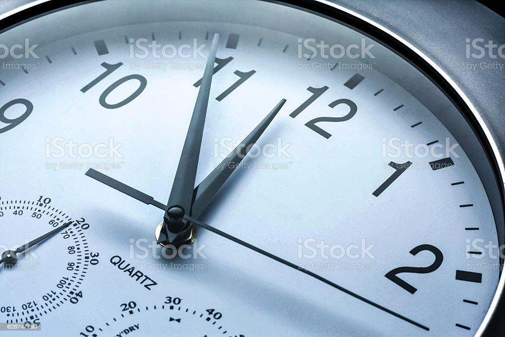Minutos hasta la medianoche - foto de stock
