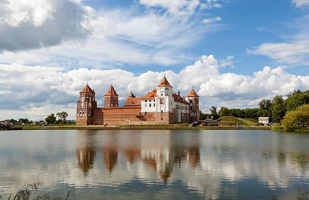 Mir Castle. Urban settlement Mir. Belarus - Photo