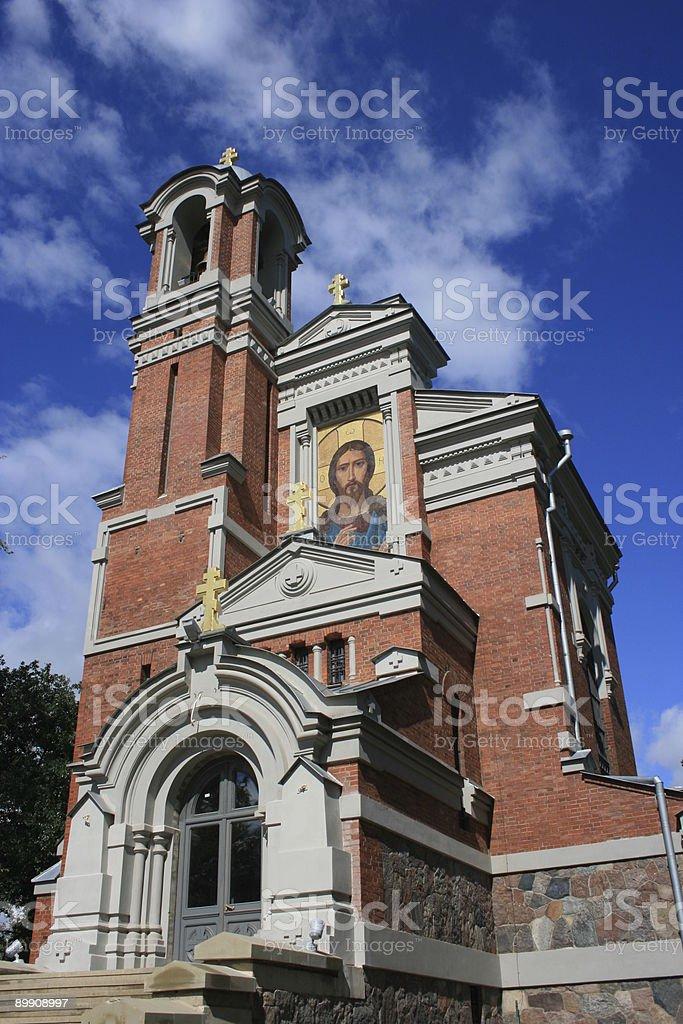 Mir Chapel, Belarus royalty-free stock photo