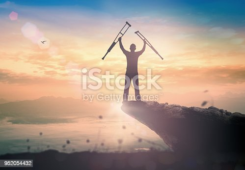 istock Miracle healing and recovery concept 952054432