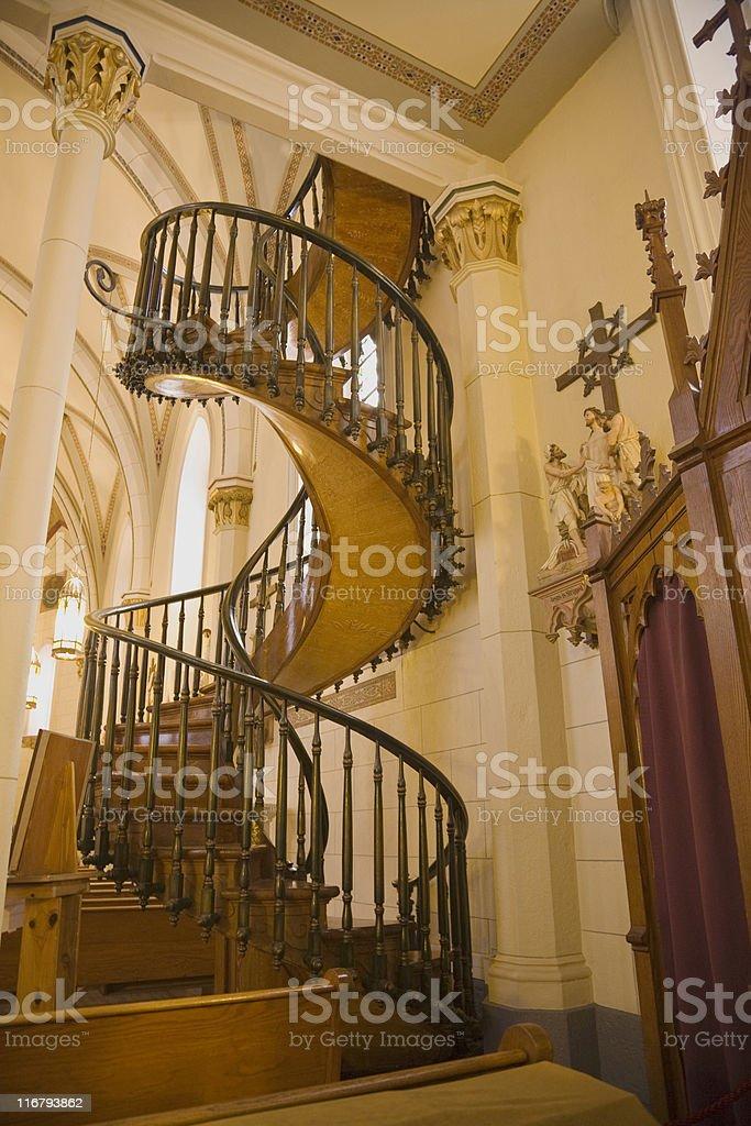 Miraculous Staircase royalty-free stock photo