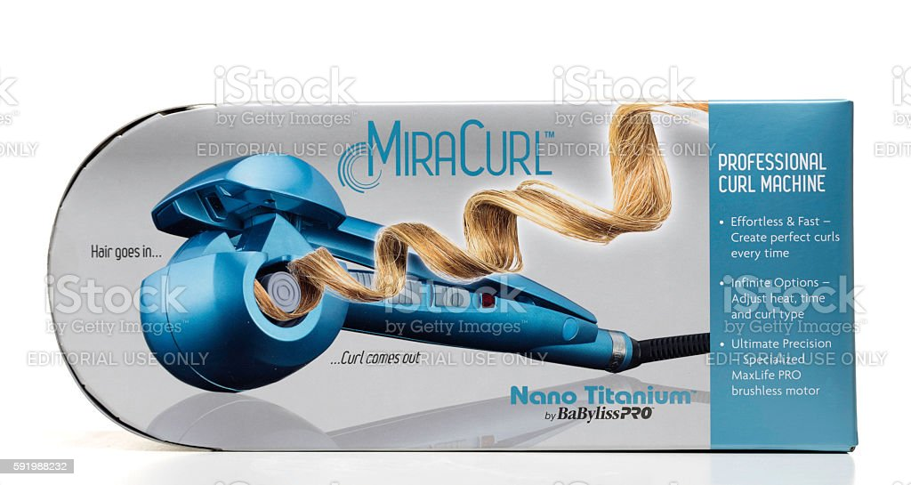Miracurl professional machine by BaBylissPRO stock photo