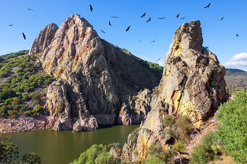 Mirador del Salto del Gitano in Monfrague National Park, Spain