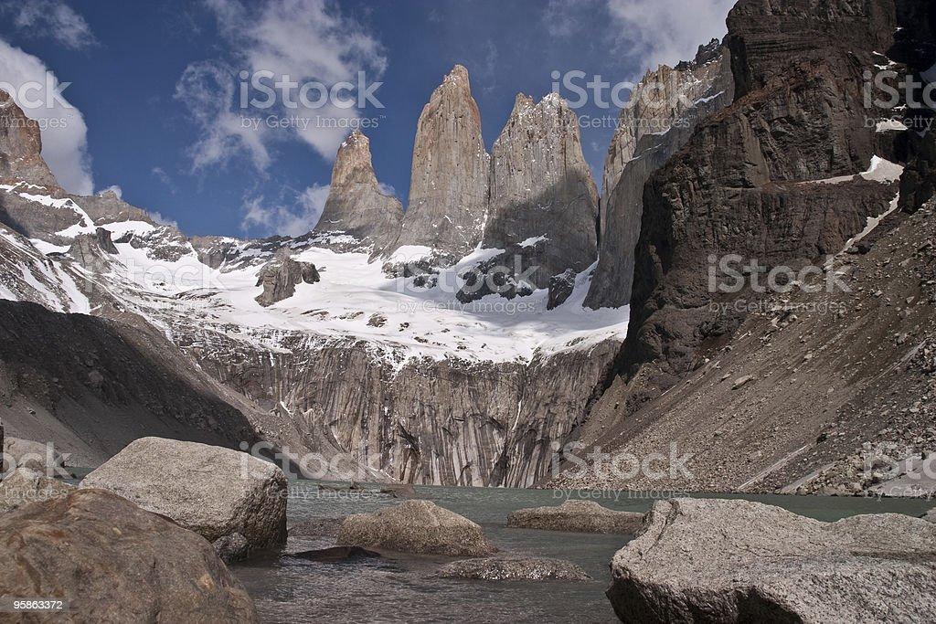 Mirador Las Torres stock photo